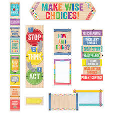 Upcycle Style Behavior Clip Chart Mini Bulletin Board