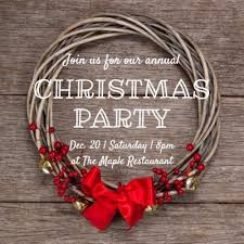 Template For Christmas Party Invitation Christmas Party Invitations And Templates By Design Wizard