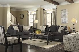 dark gray couch living room ideas hand tufted ombre rug turquoise cool interior paint idea showing red brown laminated wooden table charcoal grey area