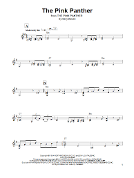 alto sax pink panther sheet music the pink panther sheet music direct