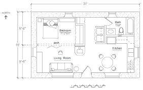Rectangular Square   Earthbag House PlansFree Economizer Earthbag House Floorplan  click to enlarge