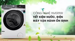 MÁY GIẶT SẤY ELECTROLUX EWW8025DGWA Giặt 8 kg - Sấy 5kg Tiết kiệm điện nước  với công nghệ Inverter Chế độ giặt nước nóng Khóa trẻ em Giặt hơi nước diệt  khuẩn