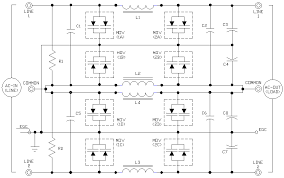 tvss ac filter schematics ecn electrical forums tvss2 gif