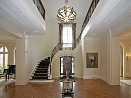 modern foyer chandeliers
