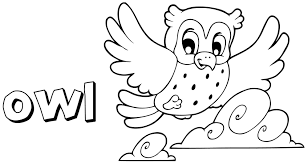 Small Picture Owl Coloring Pages For Preschoolers At Coloring Pages Preschool