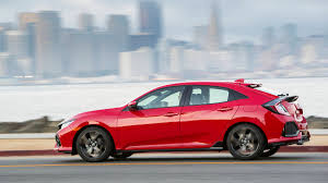 2017 honda civic sport coupe. 5 of 49for 2017, the honda civic line again gains a hatchback model which, in sport trim, offers lot for driving enthusiasts who need inexpensive 2017 coupe