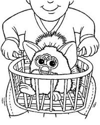 72 Best Furby Coloring Pages Images Coloring Pages Coloring Books