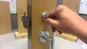 image of sliding closet door lock with key