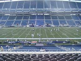 Centurylink Field View From Middle Level Club 209 Vivid Seats