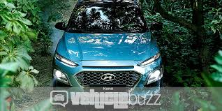 2018 hyundai kona release date. modren kona front view photograph of blue hyundai kona in the jungle 2018 throughout hyundai kona release date