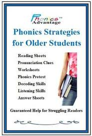 Very helpful for students reading below grade level and dyslexic students. Phonics Strategies For Older Students By Phonics Advantage Phonics Interventions Phonics Rules Teaching Phonics