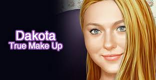 dakota fanning true make up