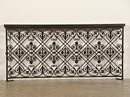 Balcony Fence a sensational cast iron balcony railing from france c1875 iron 7062 by guidejewelry.us