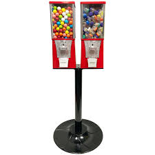 Cheap Candy Vending Machines Magnificent Buy Eagle Two Head Metal Bulk Vending Machine With Stand Vending