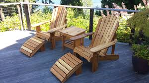 seattle adirondack chairs and outdoor furniture built to last