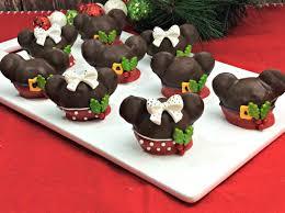 christmas cake balls. Perfect Balls Adorable Mickey And Minnie Christmas Cake Balls Recipe For E