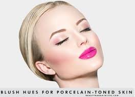 blush makeup color fair skin