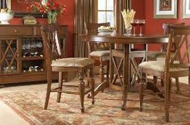 denver colonial dining room round table gany teak wooden indoor furniture kiln dry solid