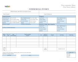 Fedex Blank Commercial Invoice 10 Reinadela Selva