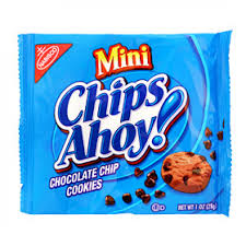 chips ahoy mini cookies. Plain Chips Chips Ahoy Mini Snack Pack Single Serve 1oz 28g To Ahoy Cookies M