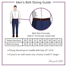 Mens Waist Measurement Chart Belt Size Chart 1 Guide To Belt Sizes How To Find Yours
