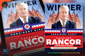 Political Event Flyer President Elect Political Flyer Template