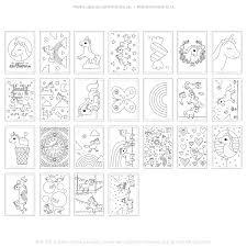 Eenhoorn Magie Printable Kleurplaten Ankepankenl