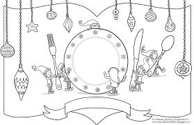 Get the larger, printable version here. Printable Placemats Celeste Gagnon Illustrations
