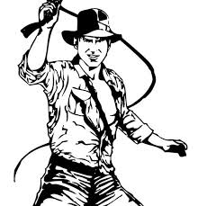 Small Picture Indiana jones coloring page indiana jones and his leather whip