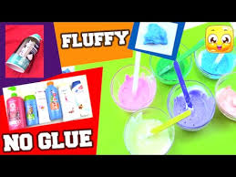 fluffy slime without glue borax