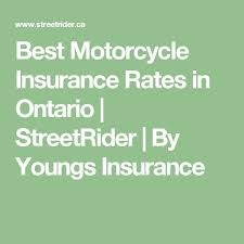 best motorcycle insurance rates in ontario streetrider by youngs insurance