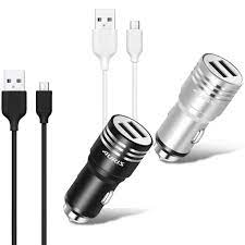Auris Araç Şarj Aleti Metal ve Micro USB Kablo Set 3.1A ARS-002 Fiyatları  ve Özellikleri