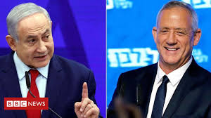 Israel election result too close to call - exit polls - BBC News