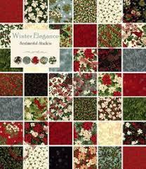 Jovial by Basic Grey for Moda Fabrics. Oh, so many possibilities ... & Beautiful Christmas Fabric! WINTER ELEGANCE Moda Charm Pack 5 inch Quilt by  charmpacks, $8.50 Adamdwight.com