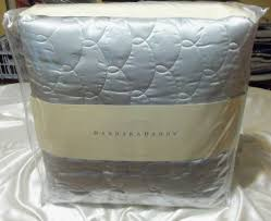 Barbara Barry Dream Silk Quilted King Coverlet Mist &  Adamdwight.com