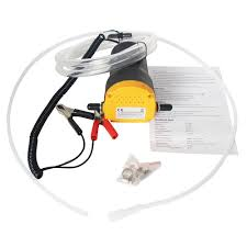 <b>12V</b>/<b>24V</b> 3~4L/Min <b>Electric Engine Oil</b> Suction <b>Pump</b> For Fuel ...