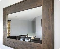 wood framed mirrors. Wood Frame Mirror Excellent Design Framed Wall Mirrors Wooden For Large Diy