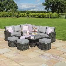 kingston grey corner dining set