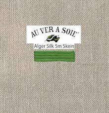 Soie D Alger Colour Chart Kreinik Au Ver A Soie Soie Dalger Color 224e Emerald Green Medium Dark 5 5 Yards By The Skein