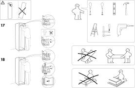 Handleiding Ikea Pax Garderobekast Pagina 3 Van 12 Dansk