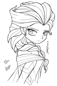 18+ [ Jack Frost And Elsa Colouring Pages ]   Les 25 Meilleures Id ...