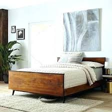 modern queen bed frame. Mid Century Modern Picture Frame Queen Bed Home Ideas Magazine Frames