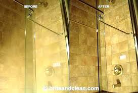 remove water stains from glass how to remove hard water from shower head remove water stain