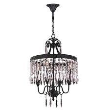 4 light crystal chandelier cl 4 light brass finish and clear crystal chandelier albano 4 light