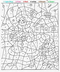 Small Picture Coloring Sheets With Numbers Color Number Coloring Pages Free