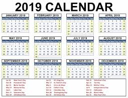 Calnedar Printable Blank 2019 Calendar Templates Calenndar Com