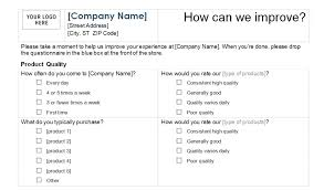 Questionnaire Questions For A Business Business Survey Template Needs Questions