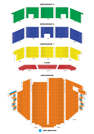 Book Of Mormon Broadway Seating Chart The Paramount Theatre Broadway At The Paramount