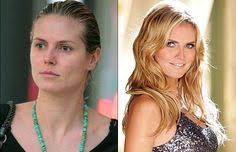 38 eye opening photos of the worlds hottest supermodels without makeup heidi klum