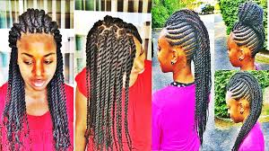 Twist Braids Hair Style versatile braids and twists hairstyles for african american womens 6865 by wearticles.com